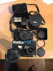 Konika TC-X Spiegelreflex mit umfangreichen