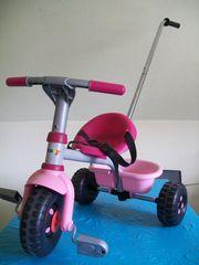 Dreirad Smoby mit Schiebe-Stange