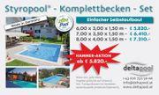 AKTION - Swimmingpool Styropool NEU