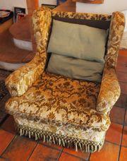 Vintage 2 Sessel 2er Sofa