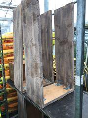 3 Stk Präsentationsmöbel aus Holz