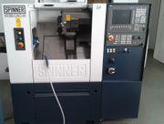 Kleine CNC Drehmaschine