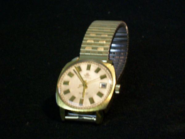 Sengle Watch Automatic-Herrenuhr Gold-Doublé 25