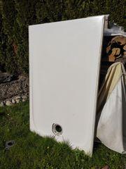 Duschwanne flach weiss 140x90