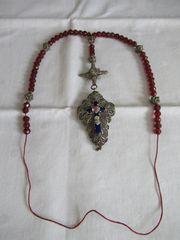 Antiker Biedermeier Rosenkranz