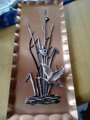 3D Kupfer Bild - Wand Deko