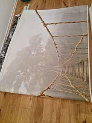 Ikea BJÖRKSTA Bild Dschungel Brücke