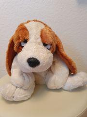 Kuscheltier Stofftier Hund 43 cm