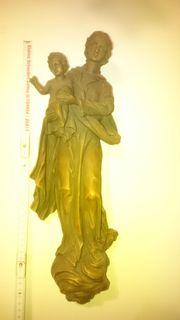 Marienfigur-Holz-Wand 46 cm