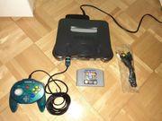 n64 mit Tetris und kontroller