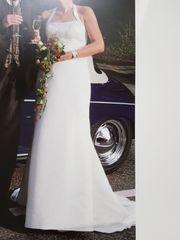 zeitloses Brautkleid der Gr 38