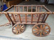 Alter Handwagen