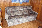 3-Sitzer-Federkern-Schlaf-Couch zu verschenken