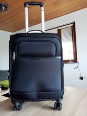 Airliner Reisetrolley Schwarz Neu
