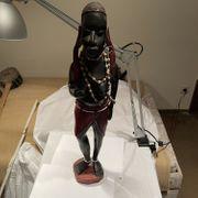 Afrikanische Holz Figur Schnitzerei ca