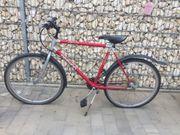 Fahrrad 26 Zoll rot Silber