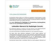 Leitender Oberarzt für Radiologie m