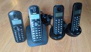PHILIPS Schnurlos Festnetztelefon DECT 4x