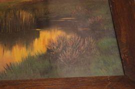 Großes Gemälde Öl auf Leinwand: Kleinanzeigen aus Ludwigsburg Mitte - Rubrik Kunst, Gemälde, Plastik