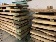 Esstisch Baumscheibe suar Massivholz Tisch