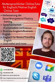 Native English online Tutor