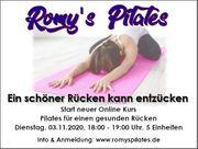 Pilates Online Training für einen