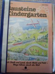 Mappe Bausteine Kindergarten