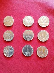 1 Rubel Olympia Gedenkmünzen