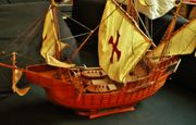 Historisches Schiffsmodell Santa Maria - Cristoph