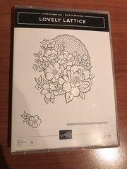 Lovely Lattice Stempelset von Stampin