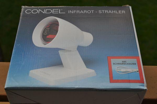 Verkaufe CONDEL Infrarot-Strahler mit Philips
