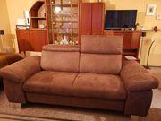 3-tlg Sitzgarnitur Couch 2 5