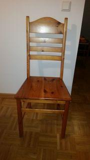 Esstisch mit Stühlen Kiefer massiv