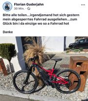 VERMISST E-Bike