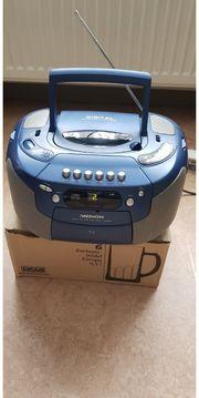 Medion CD Radio Cassetten spieler