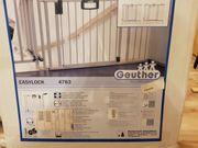 Zwei Geuther Türschutzgitter 4783 - Metall -