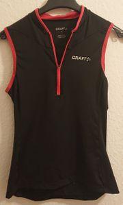 CRAFT - Damen-Oberteil ärmellos schwarz Größe