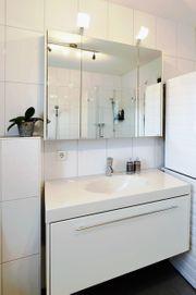 Verkaufe Waschtisch mit Spiegelschrank und