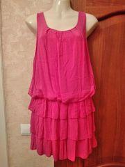 Leichtes Sommerkleid pink neu Italy