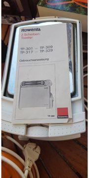 Toaster 2 Scheiben Rowenta