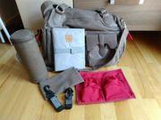 Große LÄSSIG Wickeltasche Shoulder Bag