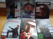 DVD boxes Justified season 2-5