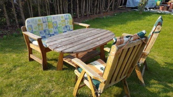 Garten Sitzgruppe Massiv Holz In Neufahrn Gartenmöbel Kaufen Und