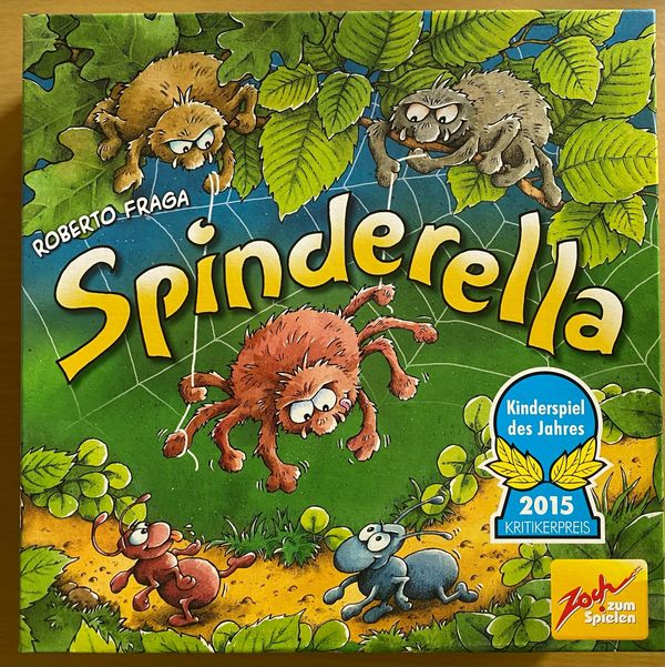 Kinderspiel Spinderella Spiel des Jahres