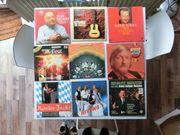 diverse Schallplatten aus den 70er