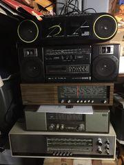Radios mit Kassette und ohne