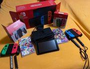 Neue Nintendo Switch konsole mit