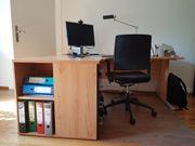 Homeoffice Büro Schreibtisch Schrank Regal