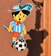 Alter Schlüsselanhänger GAUCHITO Fußball WM