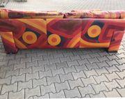 Vintage Sofa Designer-Sofa echtes Leder